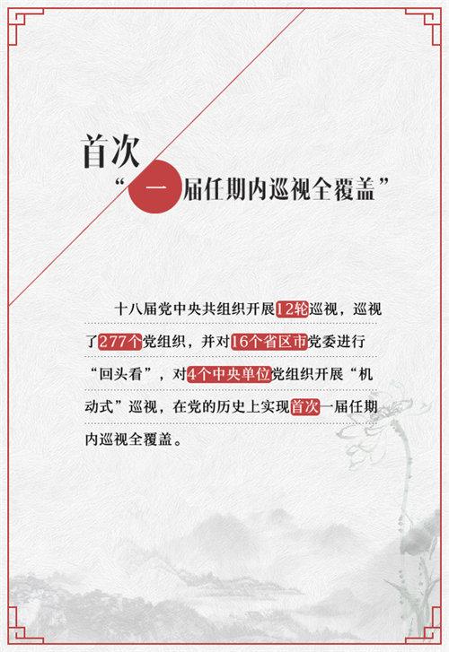 """【图解】""""数说""""十八届中央巡视工作重大看点【2】"""