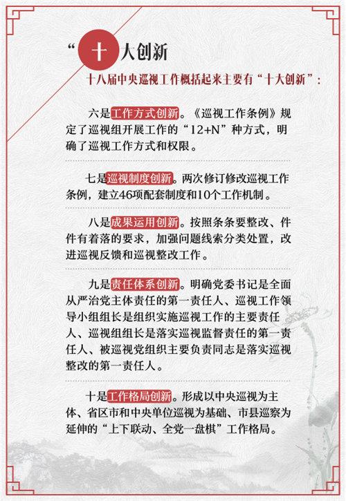 """【图解】""""数说""""十八届中央巡视工作重大看点【13】"""