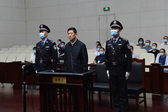 陕西省人民政府原副省长陈国强受贿案一审开庭 择期宣判